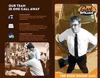 Geek Squad Brochure