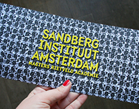Sandberg Instituut Open Day 2013 | posters design
