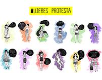 Mujeres Protesta