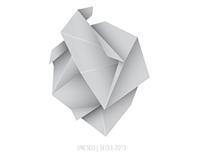 Papershape Heart Logo