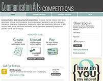 Comm Arts Competition Entry Website