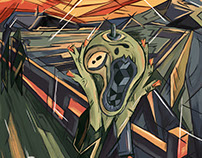 The Adobe 5th Scream Contest #MunchContest