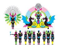 Carnaval. Estructura de una comparsa