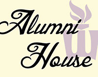 Alumni House Rack Card