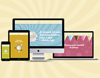 MERCHANT ICE CREAM - Web Design