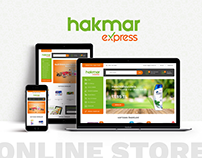 HAKMAR E-Commerce Design