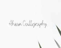 Ahsan - Free Calligraphy Script Font