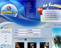 Website - Radio Sucesso