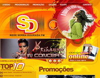 Website - Rede Serra Dourada FM