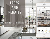 Furniture and decor Opencart store - LaresandPenates