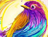 Bird — Ilustración • Proyecto personal 2013