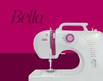 Manual de Instruções - Máquina de costura Bella Elgin