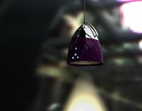 Luminária em Córian