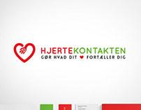 Hjertekontakten - Logo redesign