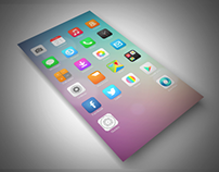 IOS 7 style icon for android