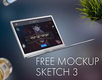TV Show PromoPage Free Sketch MockUp