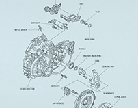 Volkswagen Spare Parts Press Ads