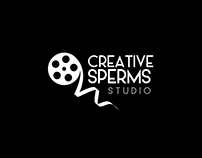 Creative Sperms Studio Logo & Branding