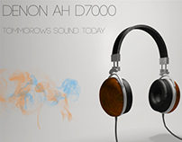 Mock 3D and Graphic Design (Denon AH D7000)