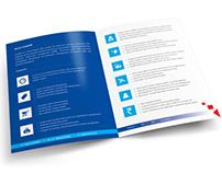 InfaERP - Corporate Brochure Print Design