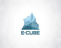 E-cube / Logo & identity for an ice bar
