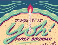 Yoh! Birthday Poster