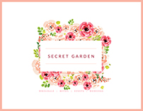 BRANDING | Secret Garden Flowers