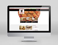 Nea Gastra Responsive Website