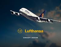 Lufthansa Landing Page