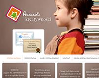 Akademia Kreatywności Website