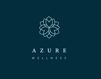 Azure Brand Identity - Wellness ,Spa ,Yoga studio