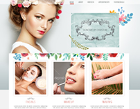 Beauty and Makeup studio website