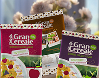 Gran Cereale KIDS Package Redesign