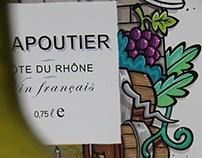 """Illustrative Branding """"Chapoutier"""""""