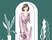 Fashion Illustration Pre-Fall 2018
