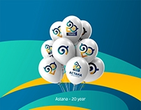 Astana city - 20 years
