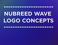 NuBreed Wave Logo Concepts