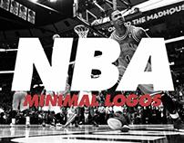 NBA Minimal Logos