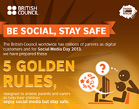 Infographics: Be social, Stay safe