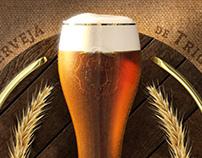 Cerveja Weiss 3D