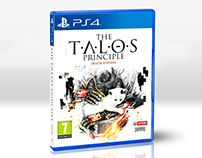 PS4 - The Talos Principle Game Artwork