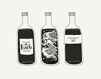 Inktober2018 : 18 Bottle