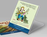 Настольный календарь для юридической компании
