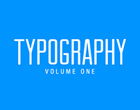 Typography Volume One