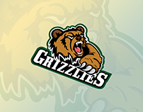 ASU Grizzlies Logo Design