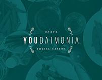 Youdaimonia restaurant branding