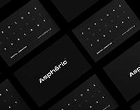 Asphēric • Brand Identity