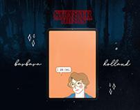 Wallpaper III: Barbara Holland from Stranger Things