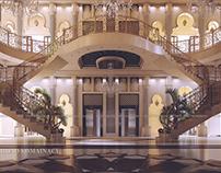 MAIN HALL OF HOTEL IN DUBAI