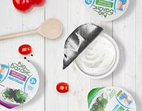Biobalance yogurt's dressing design